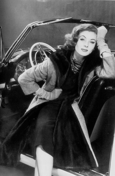 ...Suzy Parker....she was EVERYWHERE in the 1950's...one of truly beautiful things of an era that was not noted for great taste...!