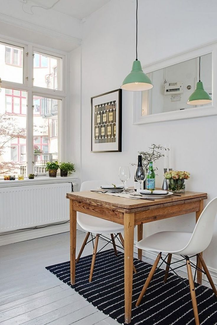 Lovely Small Kitchen Table For Studio Apartment | Kitchen ...