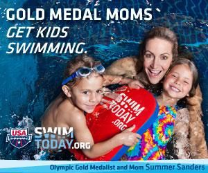 USA Swimming - great site to find local competitive swim teams for kids