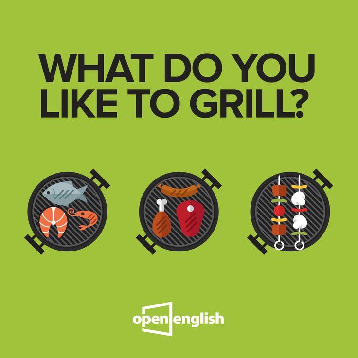 Günaydın! Sizin ızgara yaparken vazgeçilmezin nedir? In English please =) #OpenEnglish