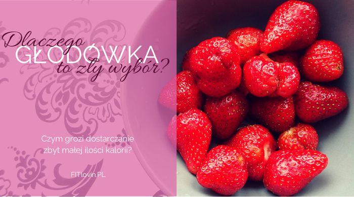Dlaczego nie warto stosować diet, które dostarczają zbyt małej ilości kalorii? O złym wpływie głodówki na organizm. http://www.fitlovin.pl/2014/06/dlaczego-glodowka-to-zly-wybor-czym-grozi-dostarczanie-zbyt-niskiej-ilosci-kalorii.html