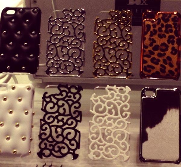 .capinhas de iphone mega chiques... eu quero!