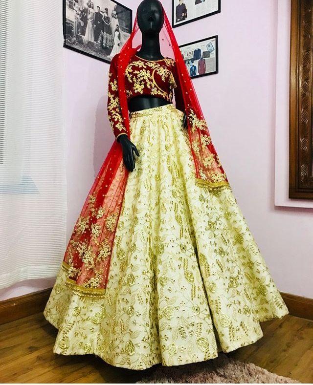 Pin By Nerine On Scarlet Bridal Lehenga Lehenga Fashion