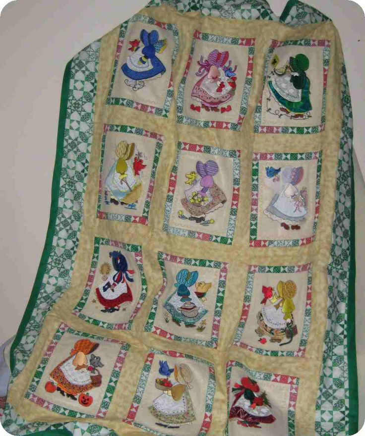 Holly Hobbie Machine Embroidery Designs