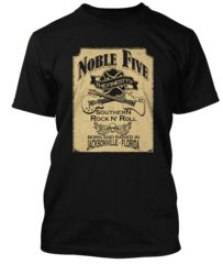 BathroomWall T-shirts -   Lynyrd Skynyrd inspired  - The Noble Five