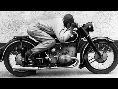 Gettin' aerodynamic with it.  BMW R51 -- 3 Motorrad