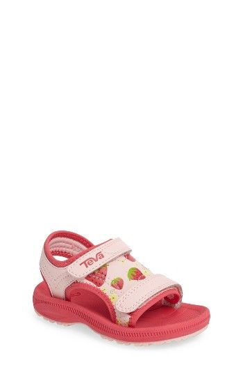 Free shipping and returns on Teva Psyclone 4 Strawberry Sport Sandal (Baby, Walker & Toddler) at Nordstrom.com. Pink strawberries enliven the front of a charming sport sandal crafted with a contoured EVA footbed for added comfort and a grippy sole to promote confident first steps.