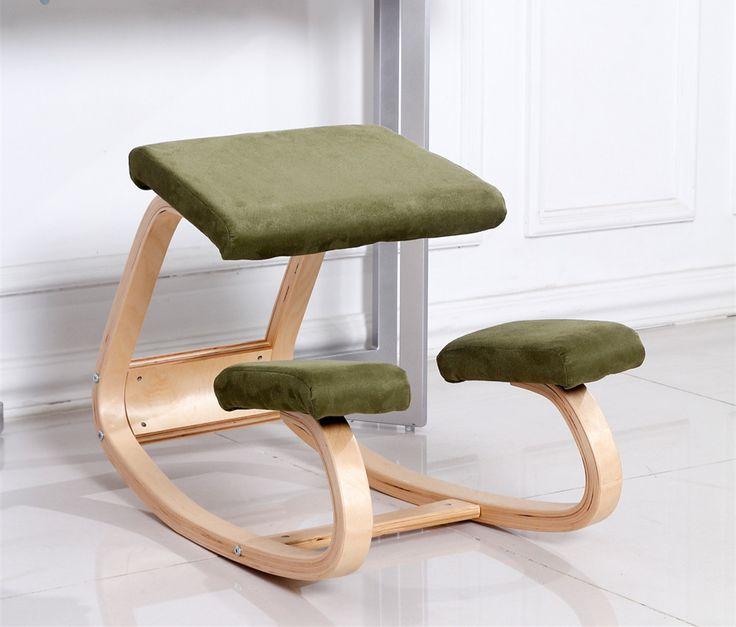 Original Ergonomische Computer Schreibtisch Hinknien Stuhl Hocker Hause  Büromöbel Holz Ergonomische Kniend Haltung Unterstützung Stuhl Design
