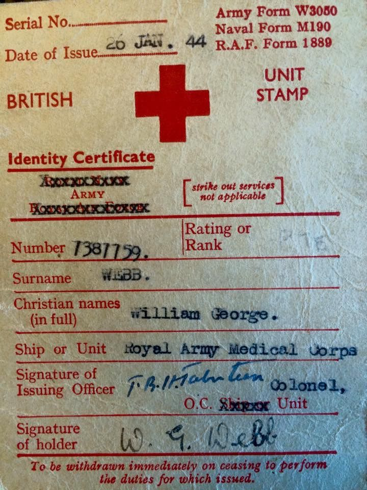 Pin by Gordon Pitchford on Royal Army Medical Corps Pinterest Army - army form