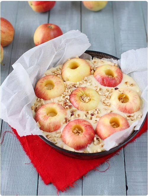 Gâteau de pommes au four
