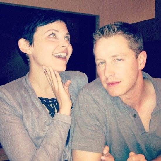 Aww, Snow (Ginnifer Goodwin) and Charming (Josh Dallas) being adorbs!