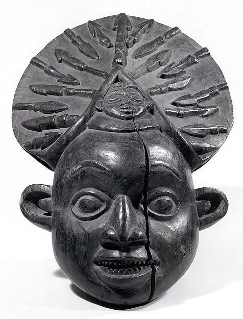Helmet Mask | Kom peoples, Tikar group | The Met