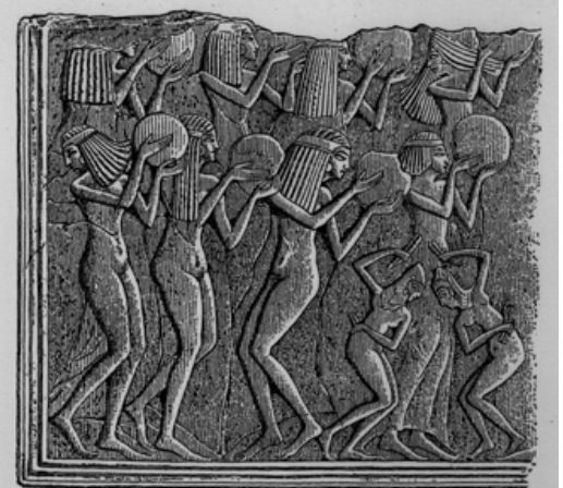 Although music existed in prehistoric Egypt, the evidence for it becomes secure only in the period.Music formed an important part of Egyptian life, and musicians occupied a variety of positions in Egyptian society. Music found its way into many contexts in Egypt: temples, palaces, workshops, farms, battlefields and the tomb. Music was an integral part of religious worship in ancient Egypt, so it is not surprising that there were gods specifically associated with music.