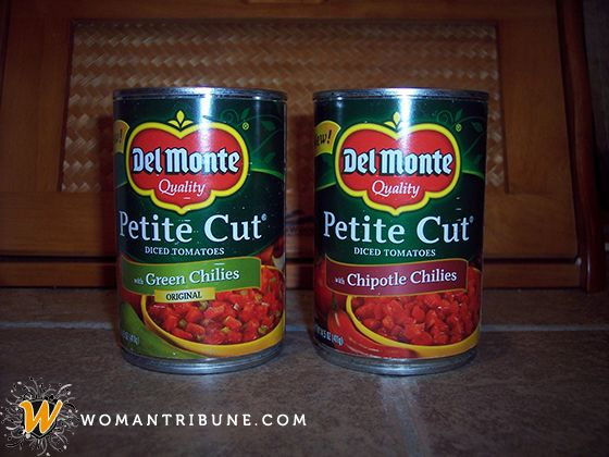 Del Monte Southwestern-Style Petite Cut Diced Tomatoes