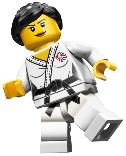 Judo Fighter Team GB Olympic Minifigures All Minifigure packets will be opened to guarantee the correct Minifigure – Comes complete with opened packets leaflet and accessories