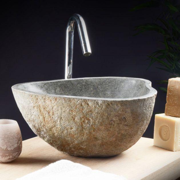 ber ideen zu waschbecken aus stein auf pinterest waschbecken stein marmor waschbecken. Black Bedroom Furniture Sets. Home Design Ideas