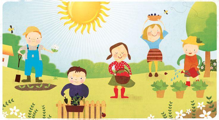 Szamóca Kiskertész Tanoda. Játékos kertész-foglalkozások 3-10 éves kis kertészeknek