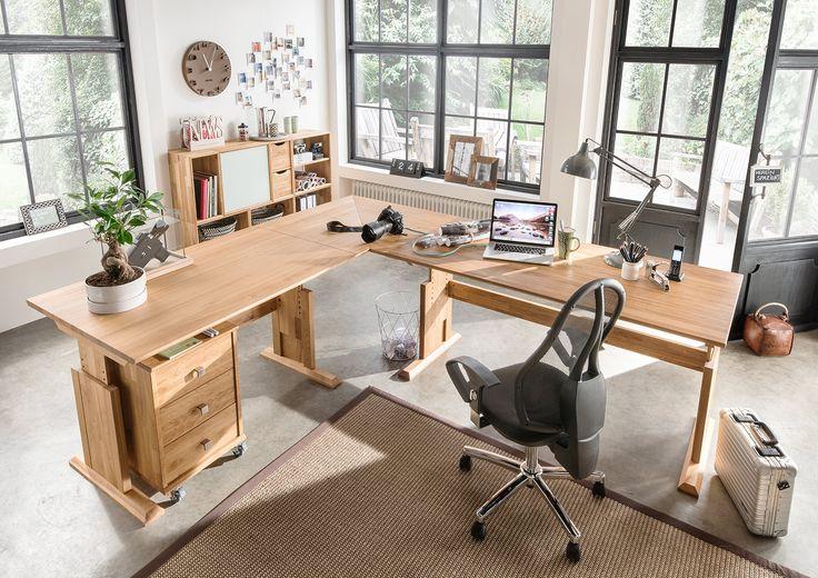 12 best images about hochwertige b rom bel on pinterest for Schreibtisch aus buchenholz