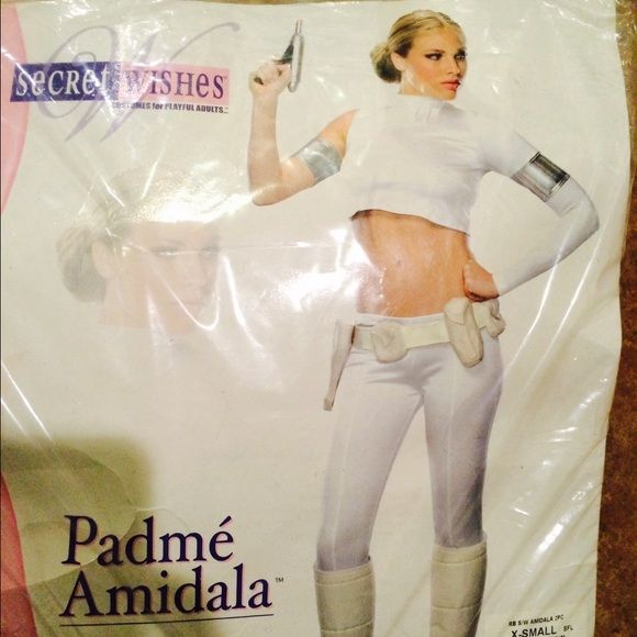 Padmé Costume💥 Star Wars Padmé costume. Size X-Small. New with tags. Includes top, pants with attached boot tops, armband, and belt. May the force be with you💥 Other