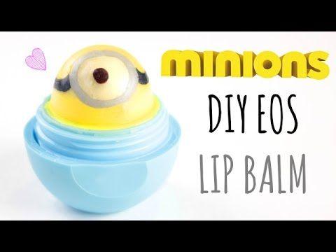 DIY Minions EOS Lip Balm ☉