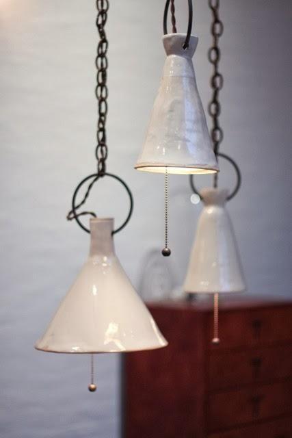 Handmade by Natalie Page Keramik, Lampor och Lyktor