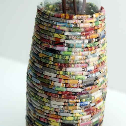 Best 25 recycle paper ideas on pinterest recycling of for Projects made out of recycled items