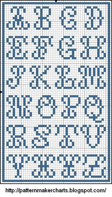 Free Easy Cross, Pattern Maker, PCStitch Charts + Free Historic Old Pattern Books: Sajou No 7