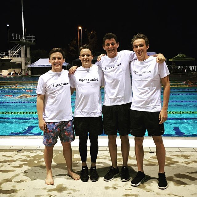 @zac_stubblety and his mates were all #funkd up and ready to race at the OLD state champs this week. #perfectforfunkytrunks