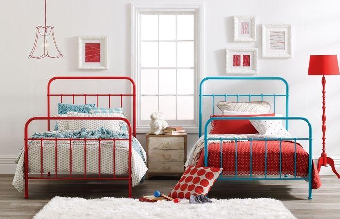Vintage Single Bedroom Bed Frames Metal Frame Queen Twin For Sale
