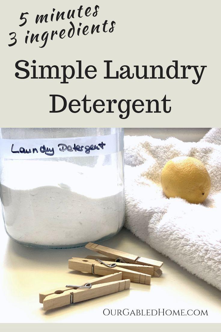 Homemade Laundry Detergent Homemade Laundry Detergent Homemade
