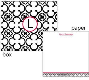 "Black Clover Personalized Note Cube - PJ Greetings - www.pjgreetings.com  ""#pjpinterest"""