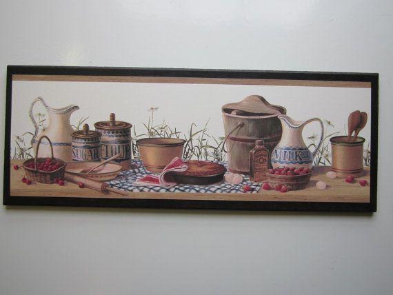 17 best kitchen art ideas images on Pinterest Kitchen walls