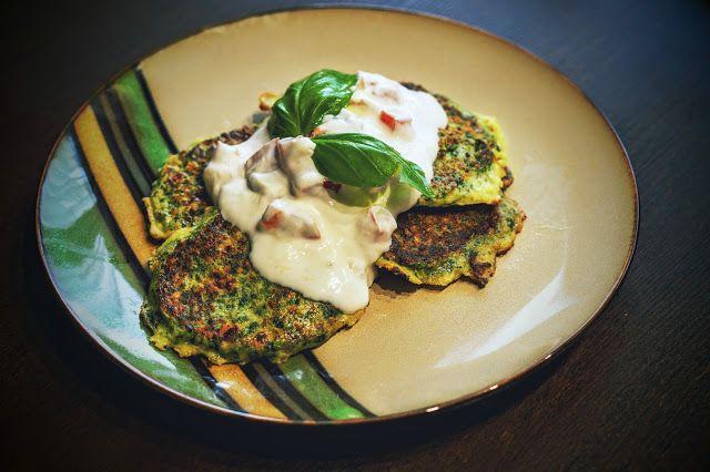 Fit & Fast Kitchen: Placuszki ze szpinakiem