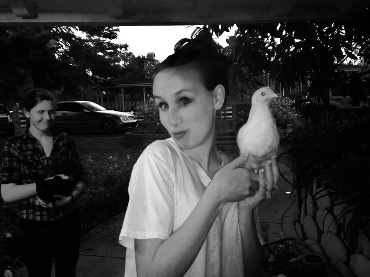 Me and a chick!!!
