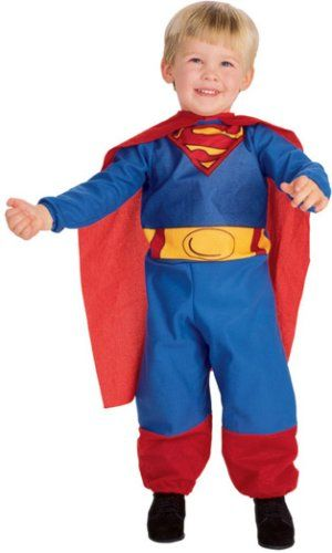 Toddler Superman Costume - Infant @ niftywarehouse.com
