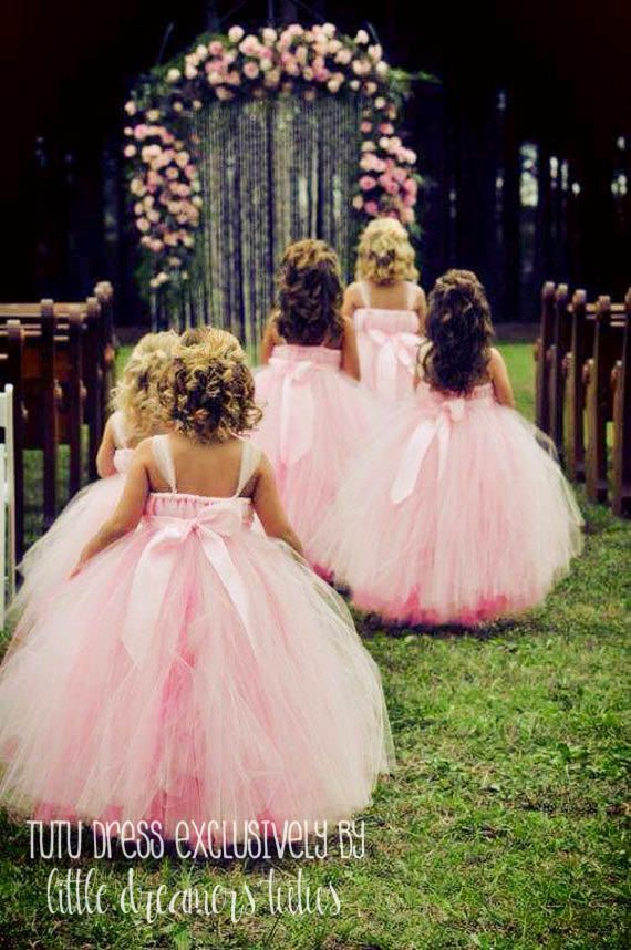 Flower Girl Dress Available at Little Dreamers Tutus on Etsy