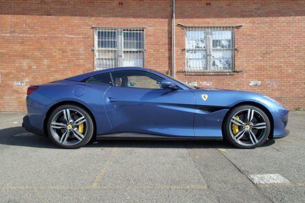 2020 Ferrari Portofino Blue Ferrari Portofino Blue