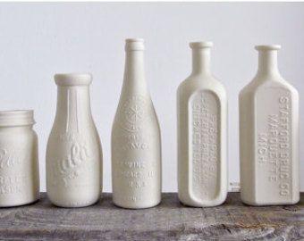 ceramic milk bottles