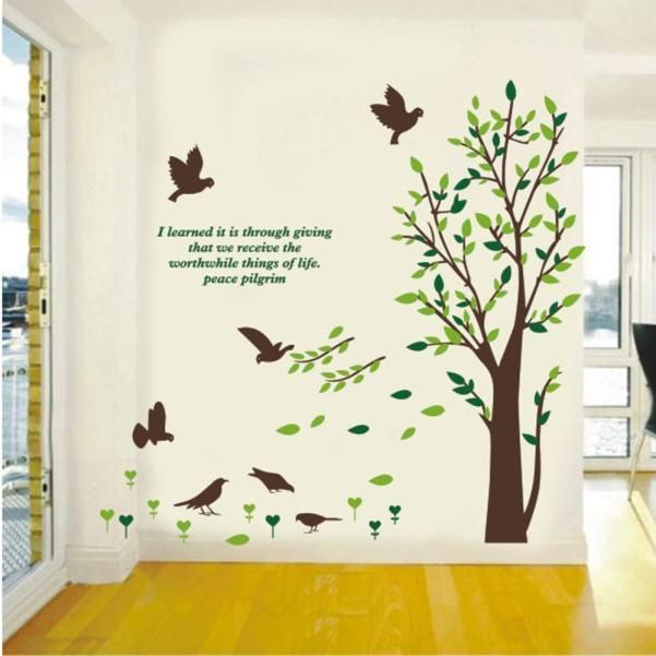 Best Creative Decals For Your Walls Images On Pinterest - Butterfly wall decals 3dpvc d diy butterfly wall stickers home decor poster for kitchen