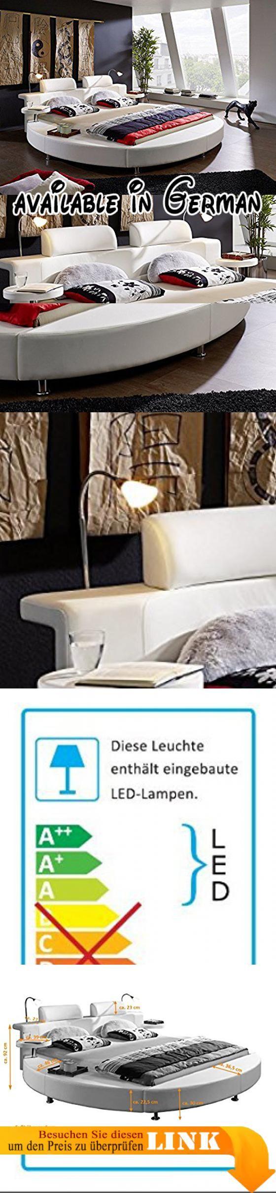 Holzbett weiß  Pinterest'teki 25'den fazla en iyi Bett weiß 180x200 fikri   Bett ...