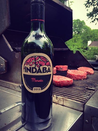Indaba Mosaic, your BBQ wine. #southafrica #wine