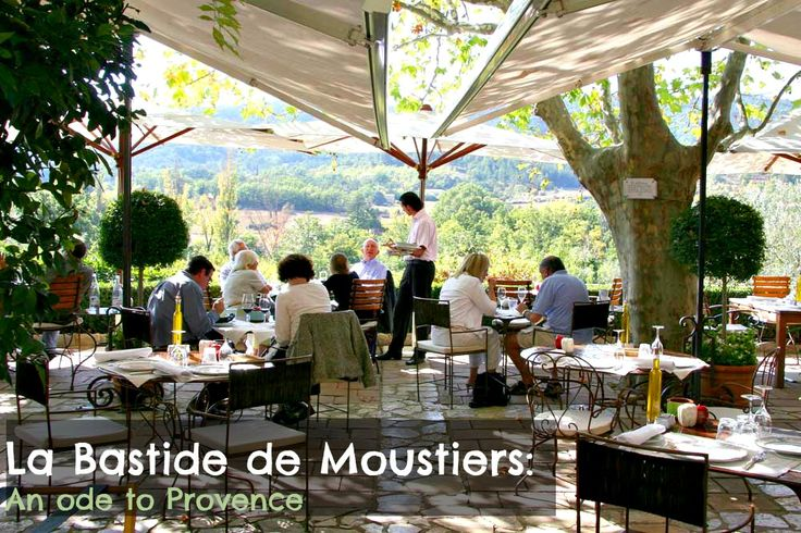 La Bastide de Moustiers is Alain Ducasse's Ode to Provence.  #Provence #France #countryinn #gourmet