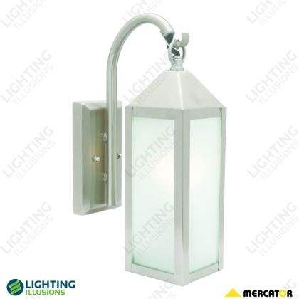 Stainless Steel York Stainless Steel Exterior Wall Lantern Shop Lighting Illusions Online