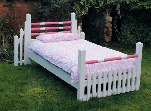 Horse jumpers bed