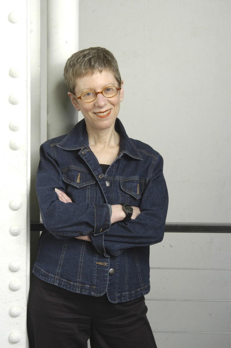 Terry Gross! Love her she looks so sweet! and is so brilliant