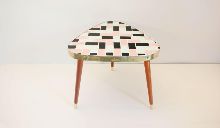 Stolik / trójnóg / ceramika