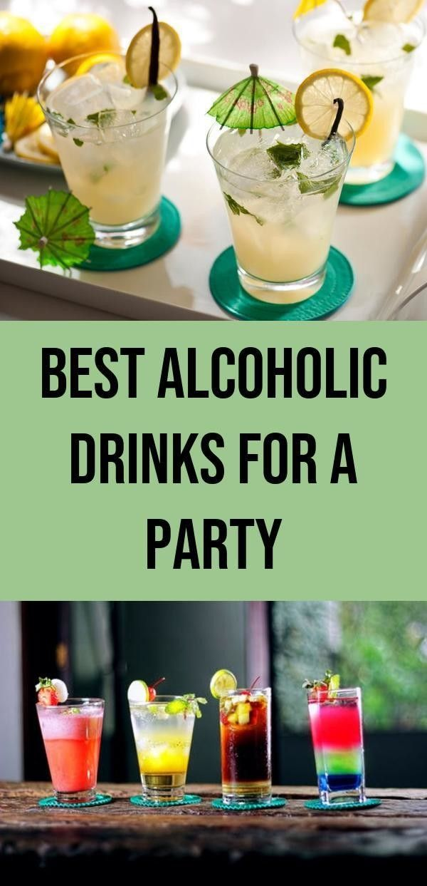 Best Alcoholic Drinks Rh Pinterest Com Mixed Art Party Alcohol