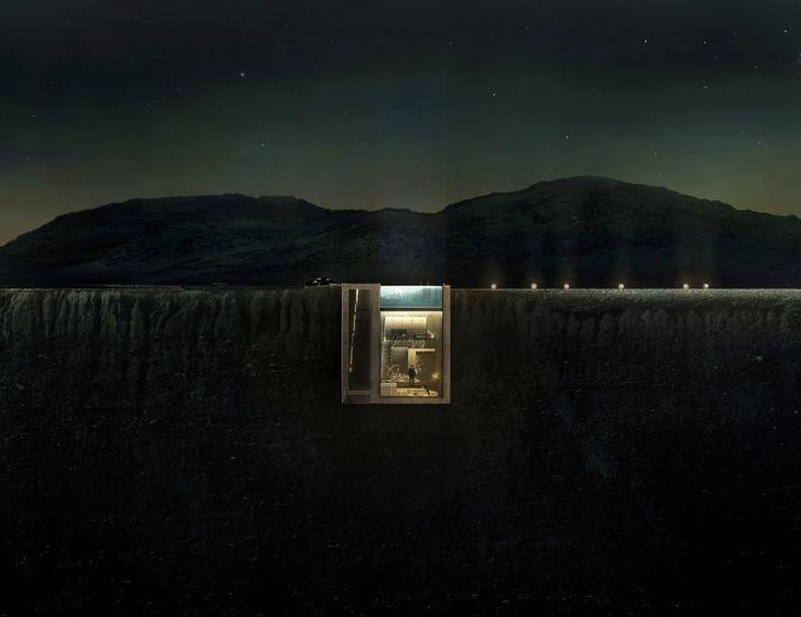 """断崖絶壁の""""中""""に建つ家、これ以上ない眺めが待っている"""