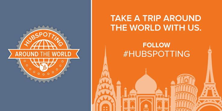 Where in the world do you HubSpot? #hubspotting
