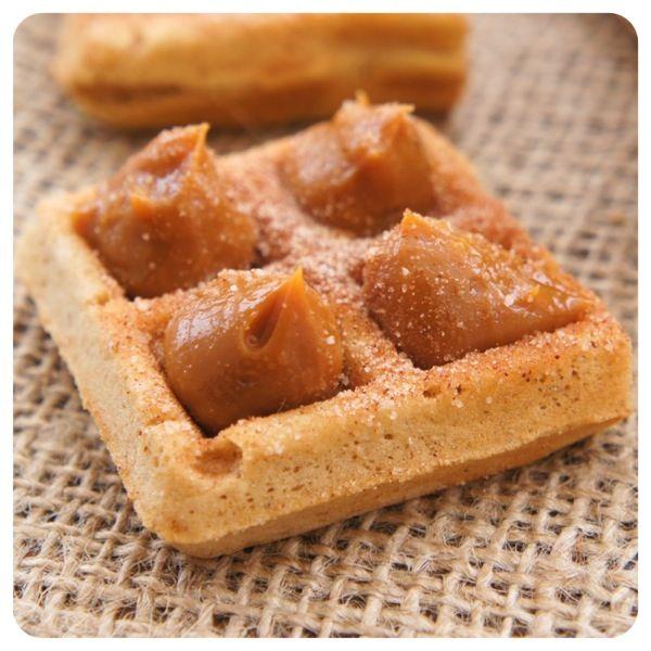 Churros sempre: aprenda receita de cupcake e waffle de churros